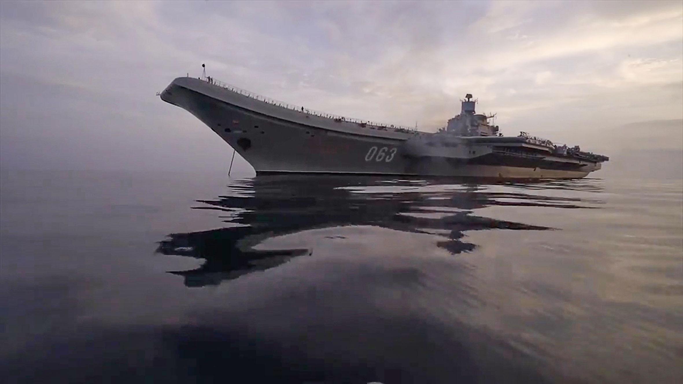 Az Admiral Kuznyecov #moszkvater