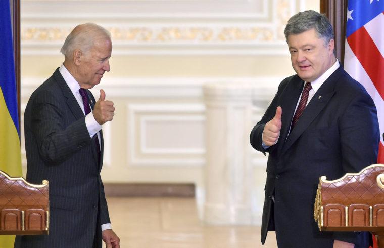 Joe Biden és Petro Porosenko sajtótájékoztatója kijevi találkozójuk után 2017. január 16-án #moszkvater