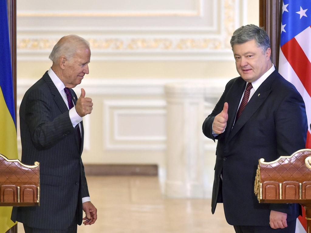 Joe Biden és Petro Porosenko találkozója Kijevben 2017. január 16-án #moszkvater