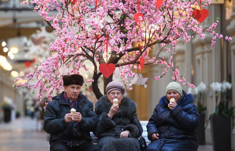 Oroszországban a fagylalt nem kifejezetten szezonális édesség #moszkvater