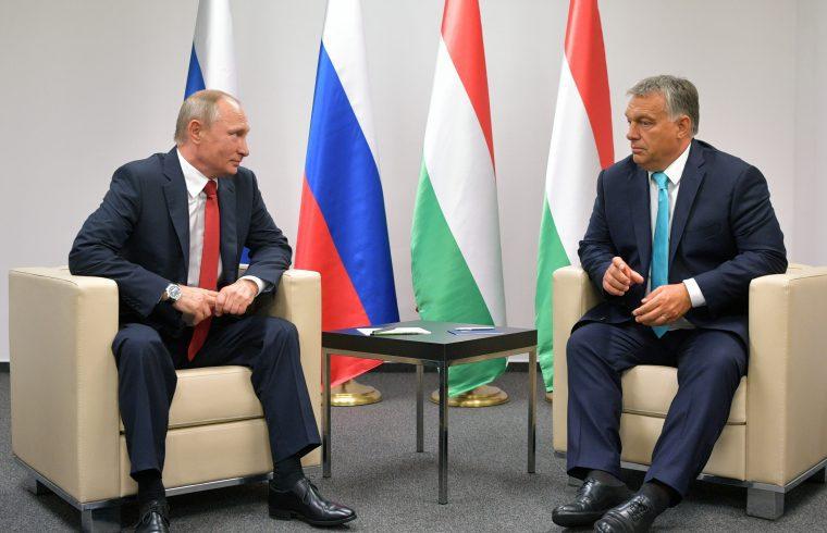 Vlagyimir Putyin és Orbán Viktor budapesti találkozójukon 2017. augusztus 28-án #moszkvater