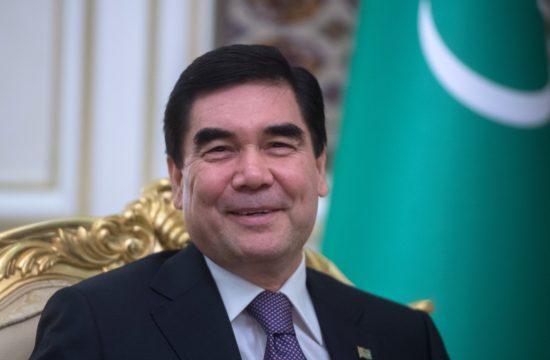 2017-es fotó Gurbanguly Berdimuhamedov türkmén elnökről #moszkvater