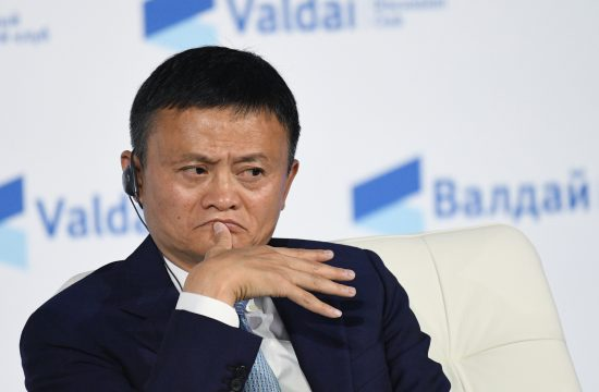 Az Alibaba cégbirodalmat felépítő Jack Ma a 2017-es Valdai Klub találkozóján, Szocsiban #moszkvater