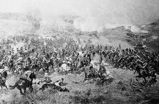 A Borogyinói csata körképének egy részlete a Borogyino Múzeumban #moszkvater