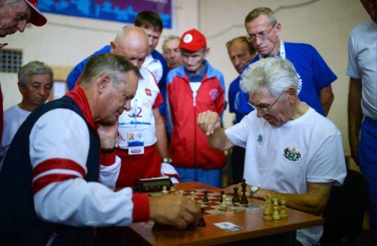 Sakkozó nyugdíjasok Novoszibirszkben #moszkvater