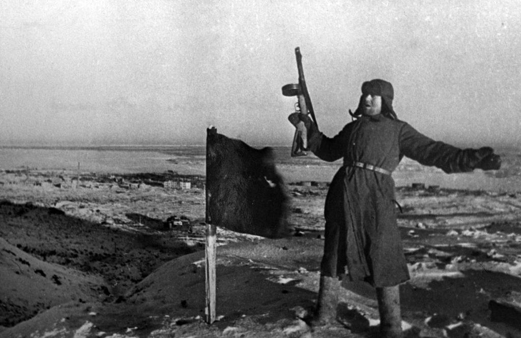 A győzelem pillanata Sztálingrád mellett #moszkvater