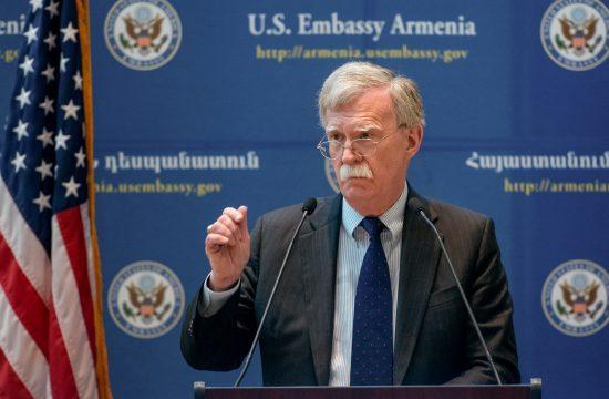 John Bolton sajtótájékoztatója a jereváni amerikai nagykövetségen 2018. október 25-én #moszkvater