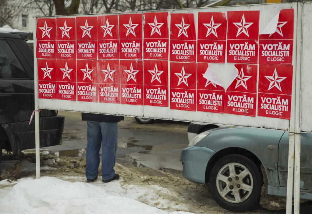 Választásra buzdító plakátok Chisinauban 2019. január 26-án #moszkvater