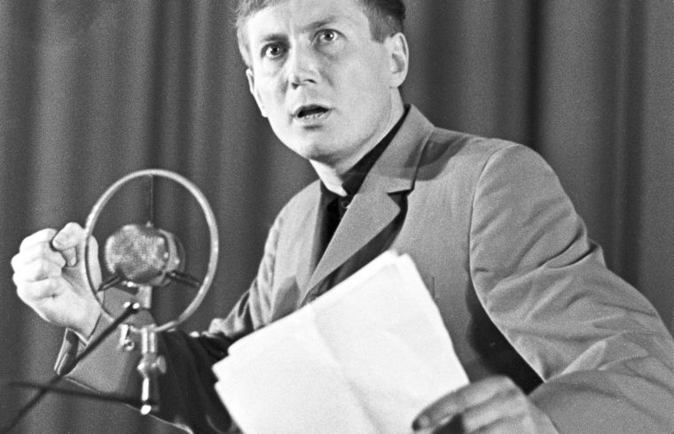 Jevgenyij Jevtusenko a 60-as években #moszkvater