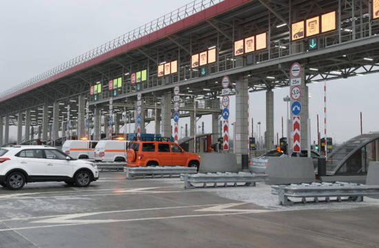 Teljes egészében fizetős az M111-es autópálya Oroszországban, amely Moszkvát köti össze Szentpétervárral #moszkvater