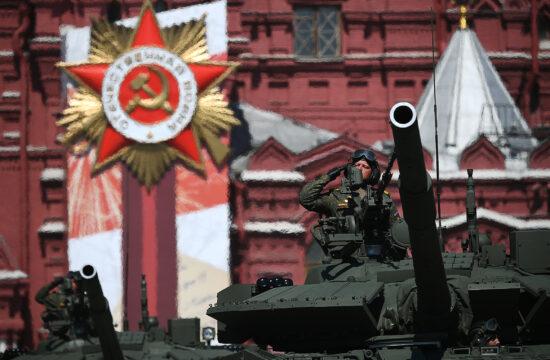 A T-80BVM első alkalommal képviselteti magát #moszkvater