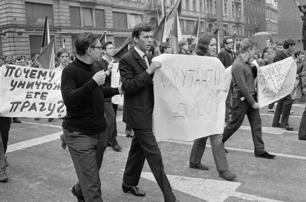 Prága, 1968 #moszkvater
