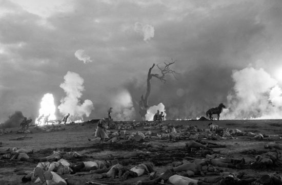 Jelenet Szergej Bondarcsuk 1966-os filmjéből, amely Tolsztoj Háború és Béke című regénye alapján készült #moszkvater