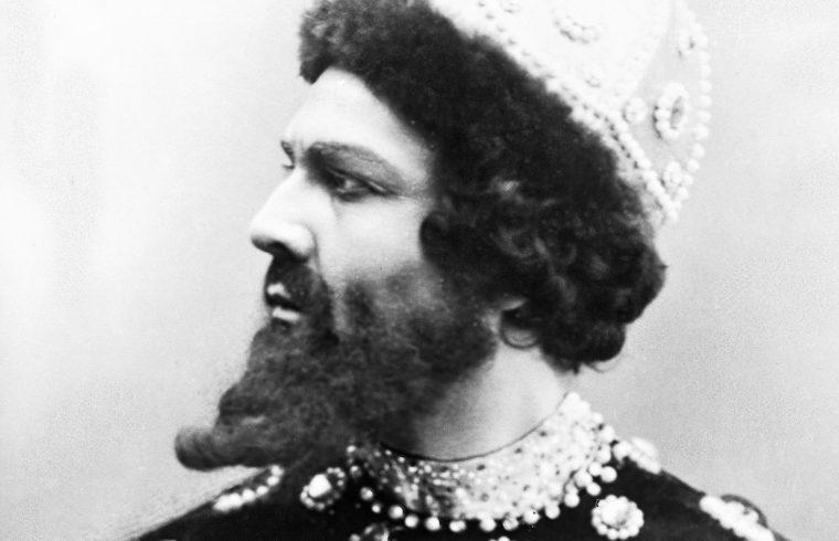 Saljapin mint Borisz Godunov 1912-ben #moszkvater