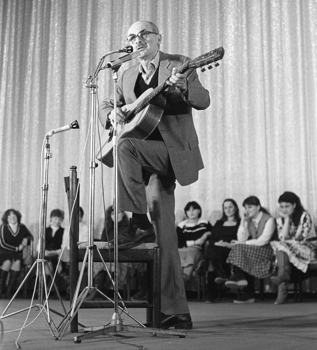 Bulat Okudzsava 1988-ban #moszkvater