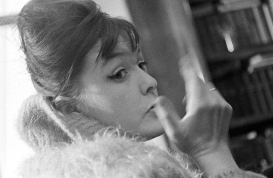 Bella Ahmadulina 1960-ban #moszkvater
