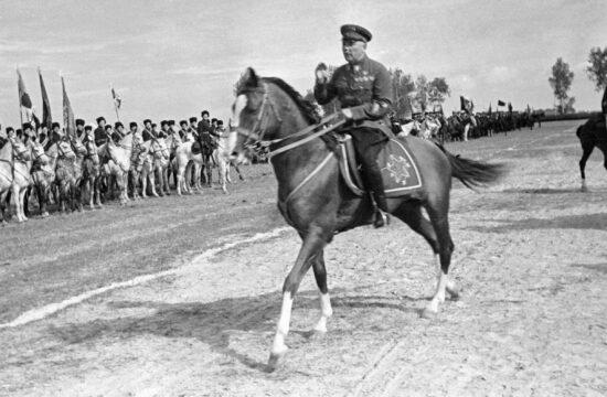 Kliment Vorosilov az 1929-es Győzelem napi dísszemlén #moszkvater