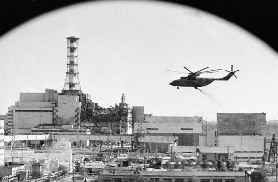 A csernobili atomreaktor sugármentesítése 1986. május 6-án #moszkvater