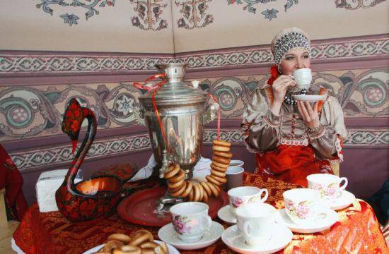 Az orosz teaszertartásról nem hiányozhat a szamovár #moszkvater