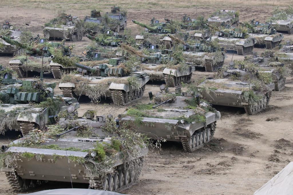 Harckocsik a 2019-es Cseh Oroszlán hadgyakorlaton #moszkvater
