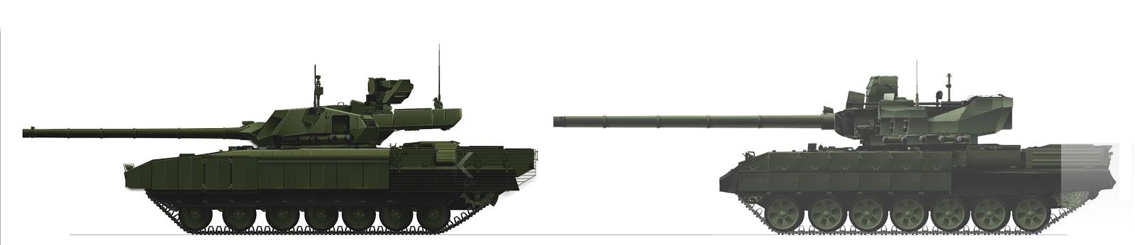 A T-14 Armata és T-95 egymás mellett #moszkvater
