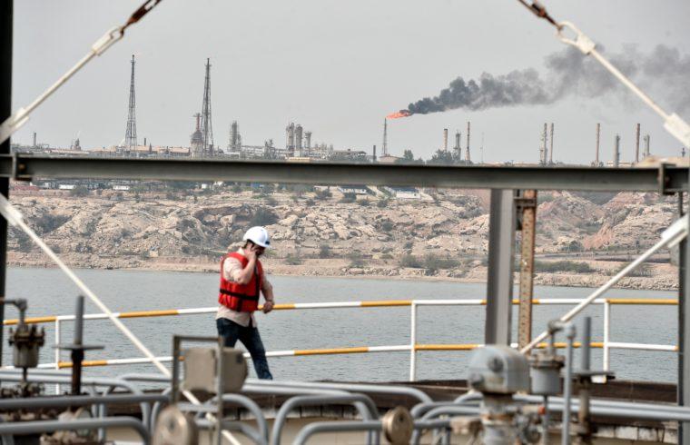Az iráni Kharg-sziget olajterminálja, ahol az iránban kitermelt olaj legnagyobb elosztóhelye #moszkvater