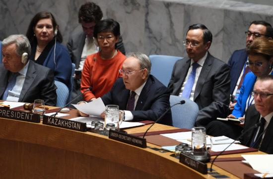 Nurszultan Nazarbajev az ENSZ BT ülésén #moszkvater