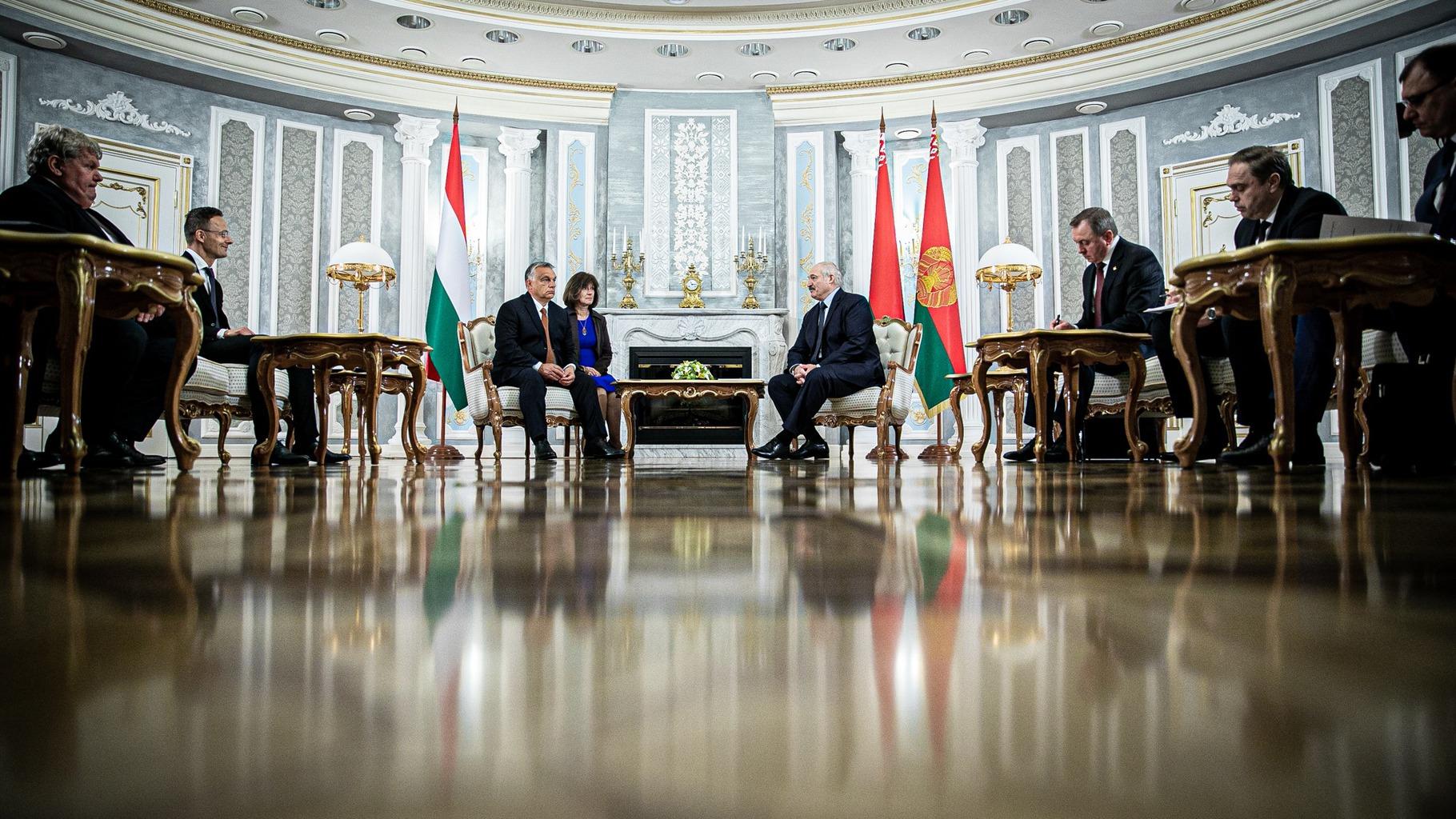 Orbán Viktor első magyar miniszterelnökként látogatott Belaruszba #moszkvater