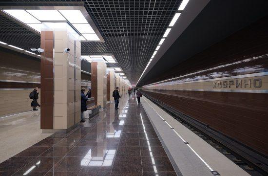 A moszkvai metró Hovrino állomása #moszkvater