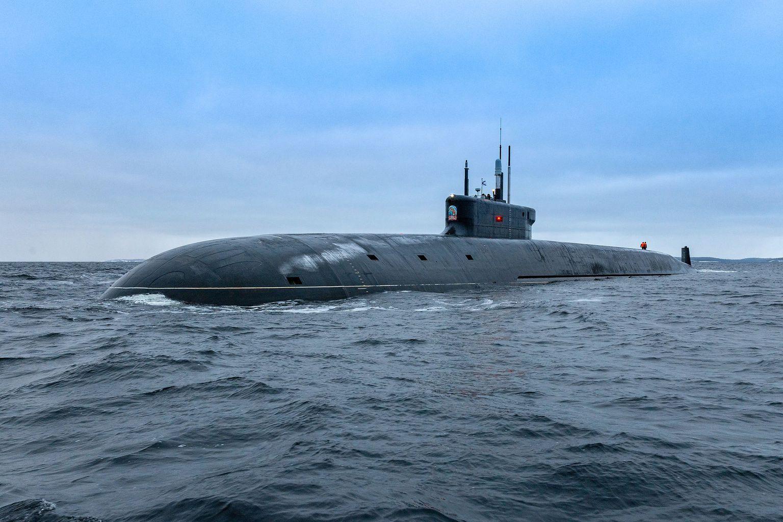 A Projekt 955A Borej-A osztály idén júniusban hadrendbe állt tagja a Knyaz Vlagyimir, mely 16 Bulava tengeralattjáróról indítható ballisztikus rakéta hordozására képes #moszkvater