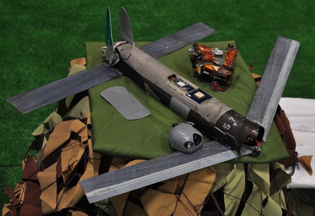 Csapásmérésre használt amerikai Switchblade drón #moszkvater