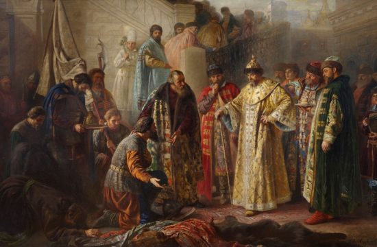Küldöttek Rettegett Iván előtt, Rosztvorovszkij festménye 1884-ből #moszkvater