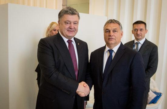 Orbán Viktor és Petro Porosenko találkozója Budapesten 2016-ban #moszkvater