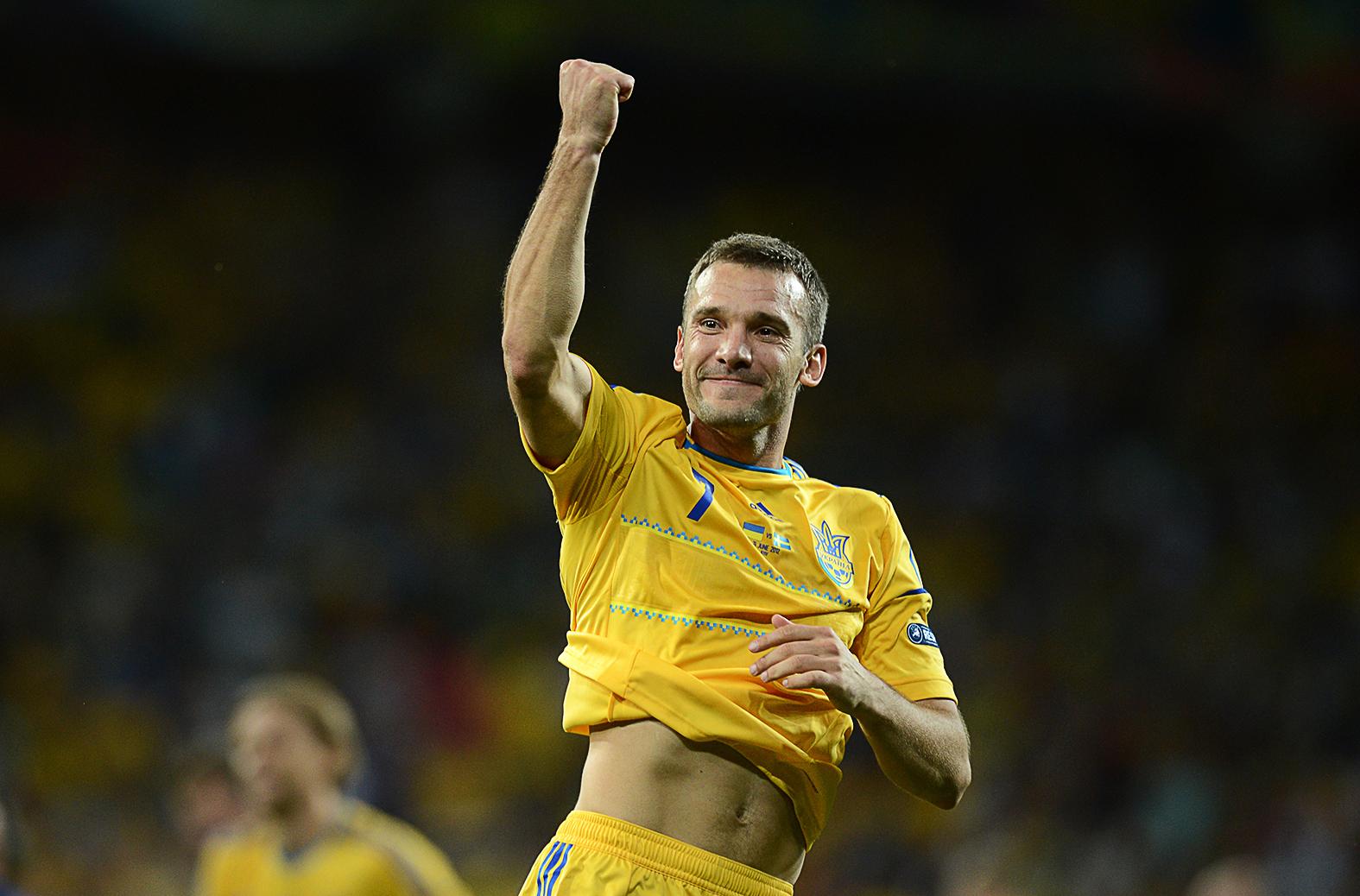 Andrij Sevcsenko a Svédország elleni ukrajnai Európa-bajnokság mérkőzésén 2012, június 11-én #moszkvater