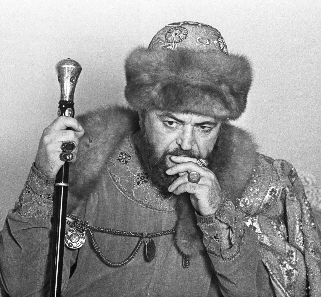 Szergej Bondarcsuk Borisz Godunov szerepében #moszkvater