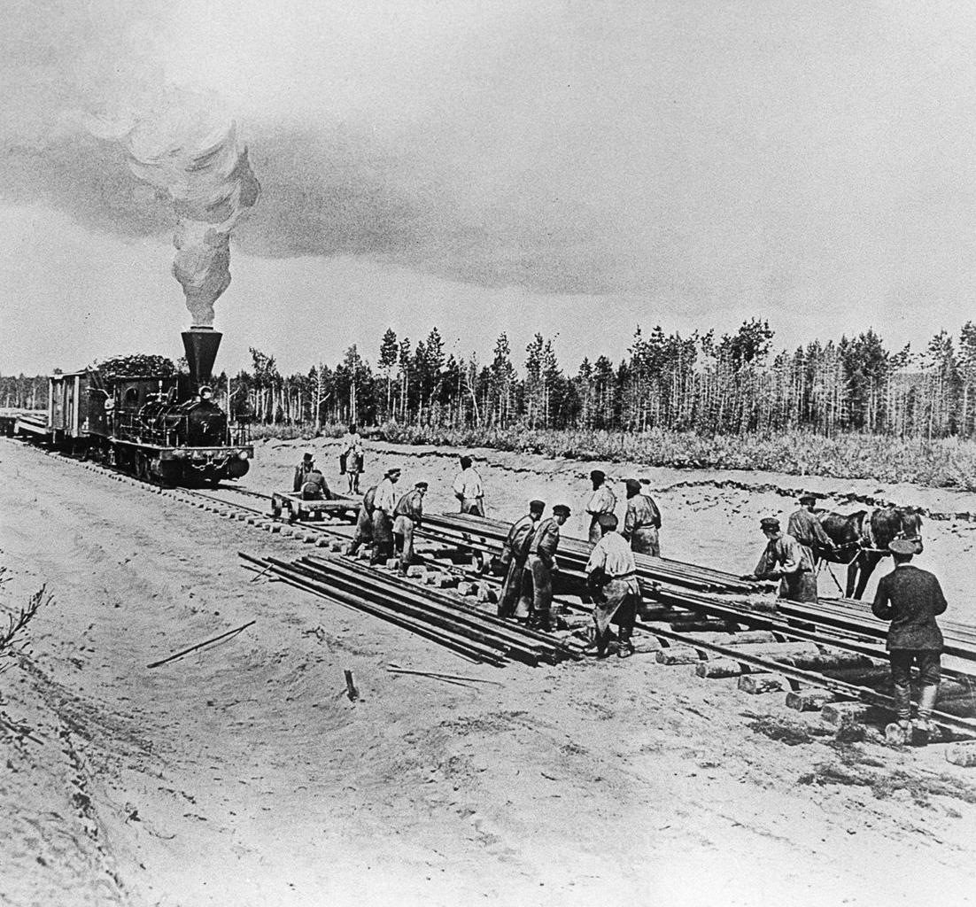 A vasút építése közel tizenkét évig tartott #moszkvater