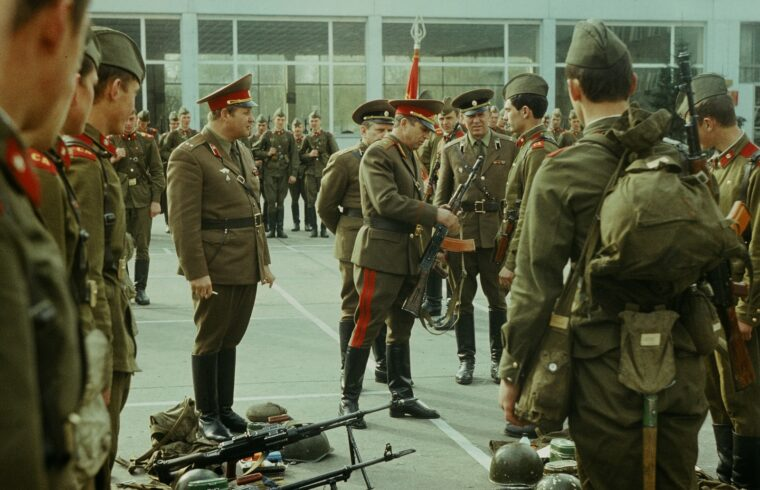 Szovjet csapatszemle az NDK-ban, 1981-ben #moszkvater