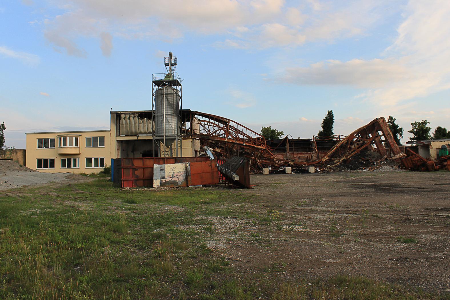 Elhagyott és összedőlt szovjet hangár Großenhainben #moszkvater