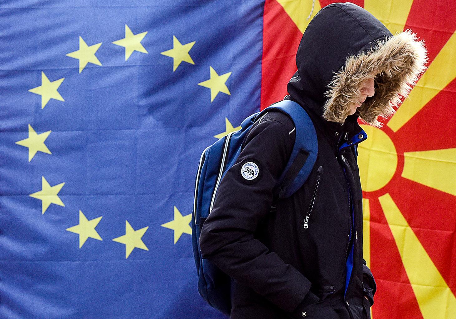 """""""Újabb halasztással kell szembenéznie Észak-Macedóniának az európai uniós csatlakozási tárgyalások megkezdésének bolgár vétóját követően"""" #moszkvater"""