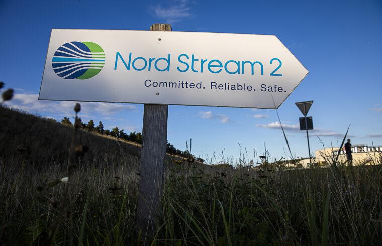"""""""Ilyen körülmények között a Gazprom számára nem sürgős az Északi Áramlat bővítésének a befejezése. Nyugodtan kivárhat"""" Fotó:EUROPRESS/Odd ANDERSEN/AFP #moszkvater"""