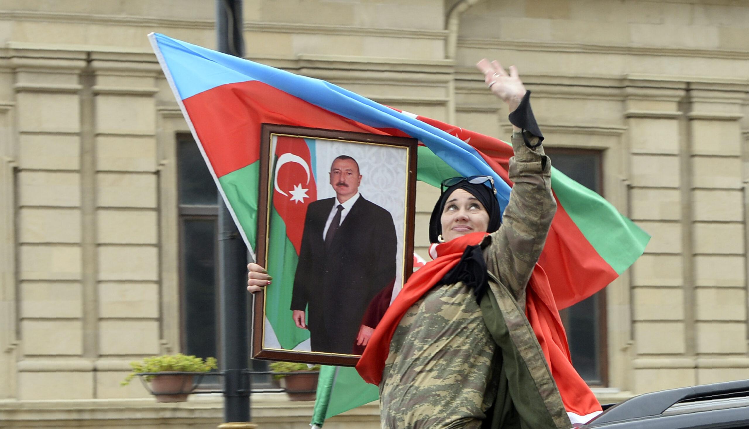 """""""Az új status quo közben Azerbajdzsánban jelentősen megerősítette az elnök Ilham Aliyev helyzetét"""" #moszkvater"""