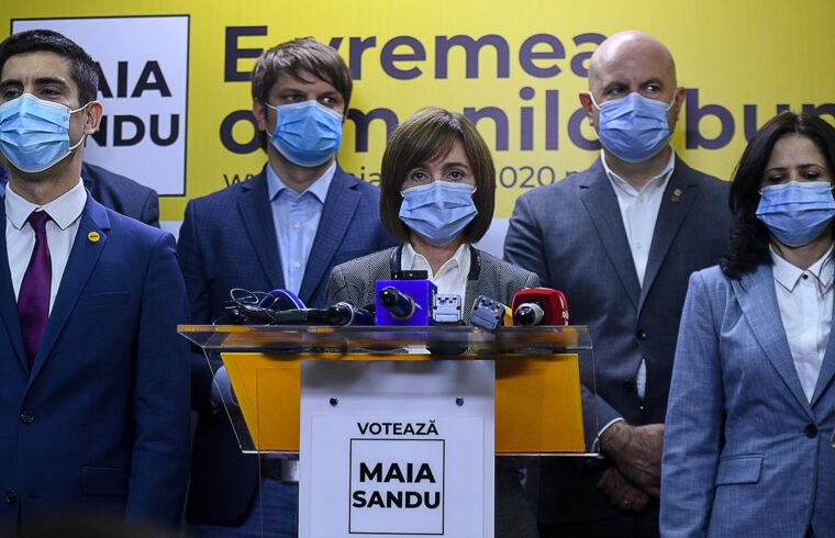 Maia Sandu nyerte az elnökválasztások első fordulóját Moldovában #moszkvater