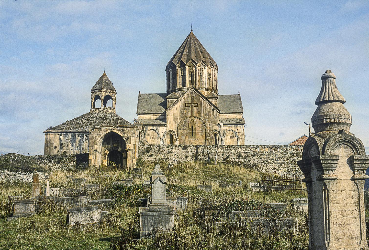 Gandzaszar kolostor a 13. századból. Az örmények számára az egyik legszentebb hely Karabahban, vagyis nekik Arcahban #moszkvater