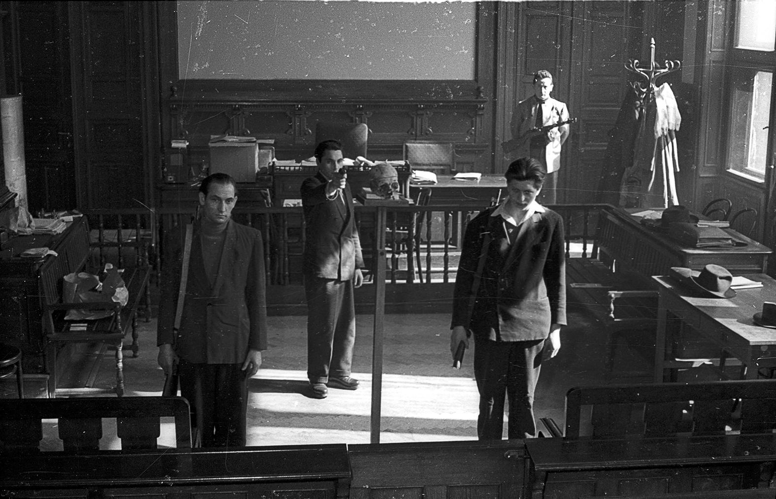 '56-os felkelők bíróság előtt a bíróságon Budapesten 1958-ban #moszkvater