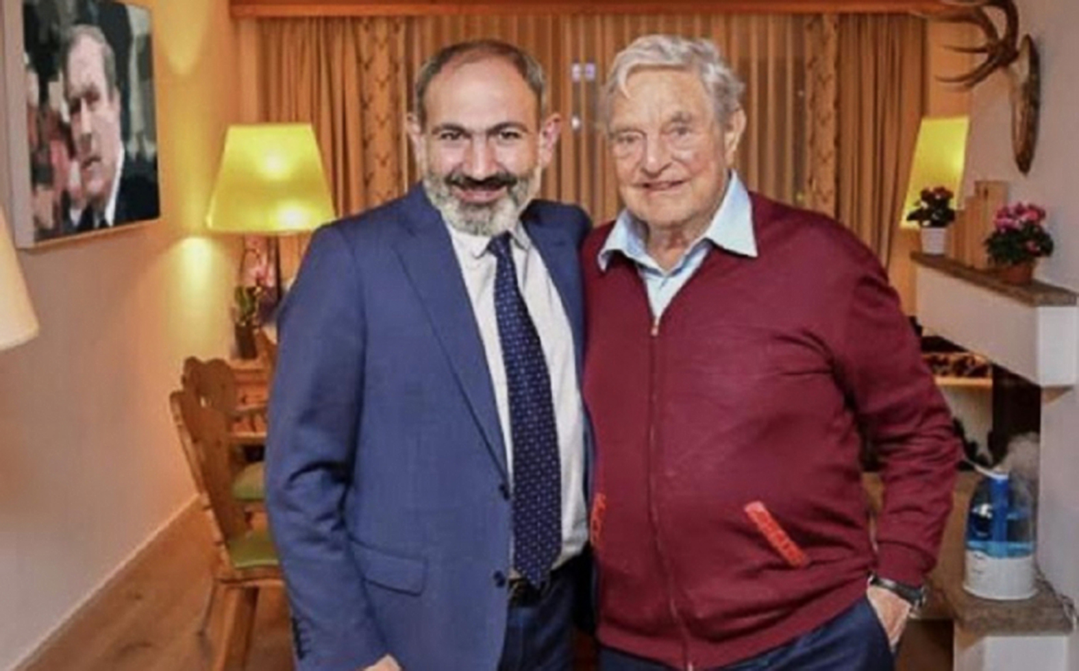 Nikol Pasinjan és Soros György #moszkvater