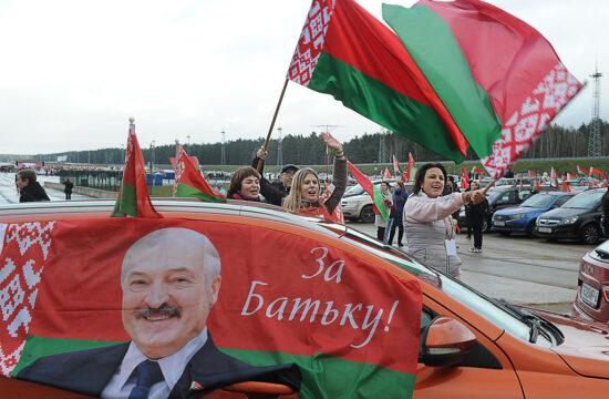 """""""A választások már jó ideje olyanok voltak, amilyenek, ám a belaruszok döntő többsége támogatta az elnököt"""" #moszkvater"""