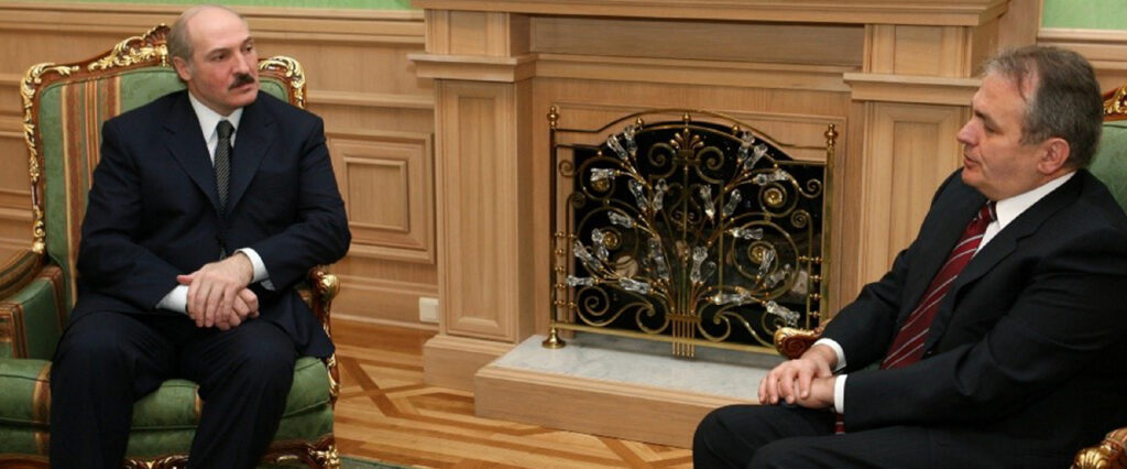 Alekszandr Lukasenko és Thürmer Gyula találkozója 2007-ben #moszkvater