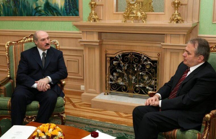 Alekszandr Lukasenko és Thürmer Gyula találkozója 2007-ben Fotó:Kovács István #moszkvater