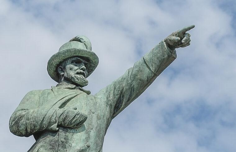 Bem József szobra Budapesten #moszkvater