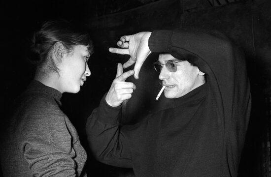 Marina Vlady és Robert Hossein egy forgatáson 1965-ben #moszkvater